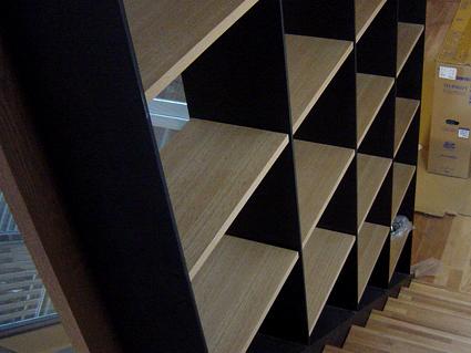 階段本棚2