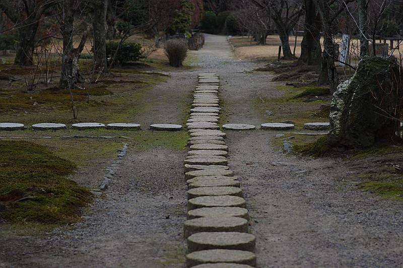 丸石の交差