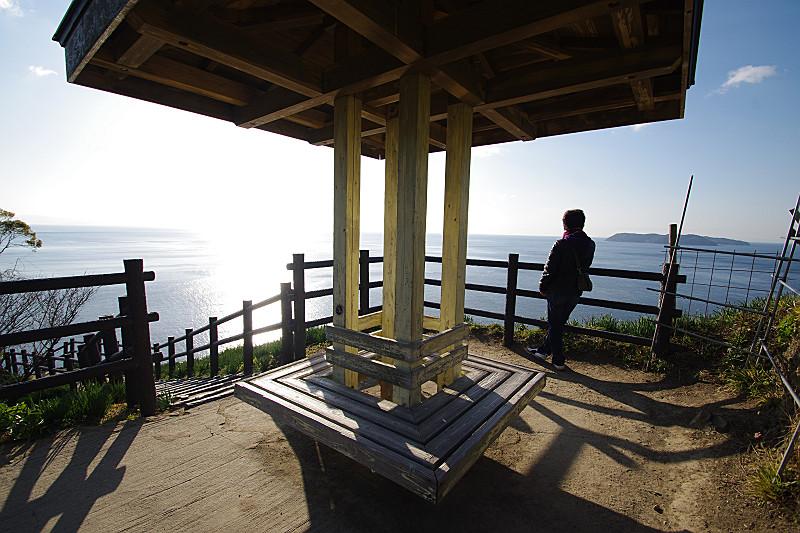 山上の展望台