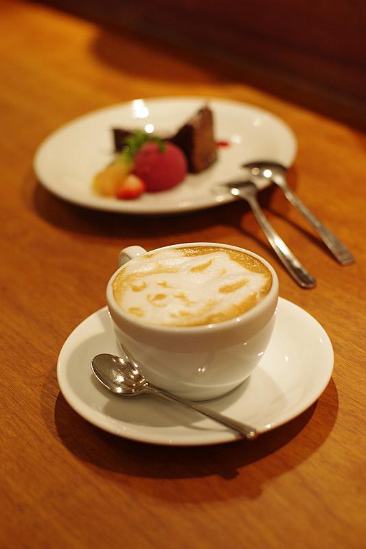 ウサギのカフェラテ