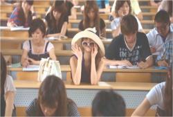 小澤の講義に来た理央