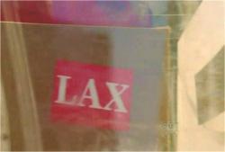 降りてきたLAXのある荷物