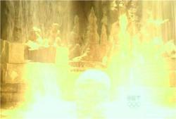 デズモンド、光の泉に入り・・