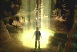 光の泉の中へ