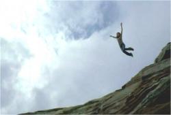 飛び込んだケイト