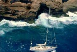 一艘のボート
