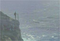 崖の上の暗黒ロック