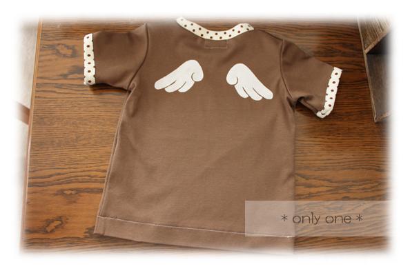 チョコ羽根Tシャツ2
