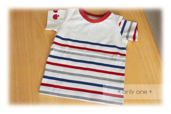 トリコロールTシャツ2