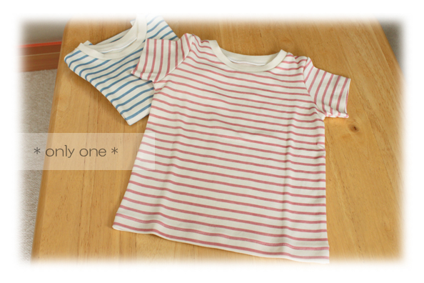 ピンク&水色Tシャツ