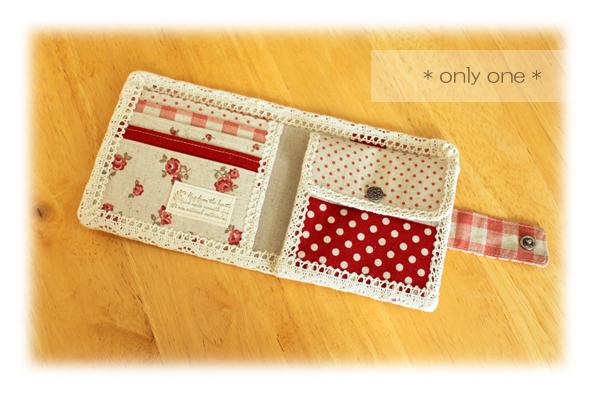 折り財布赤パッチ2