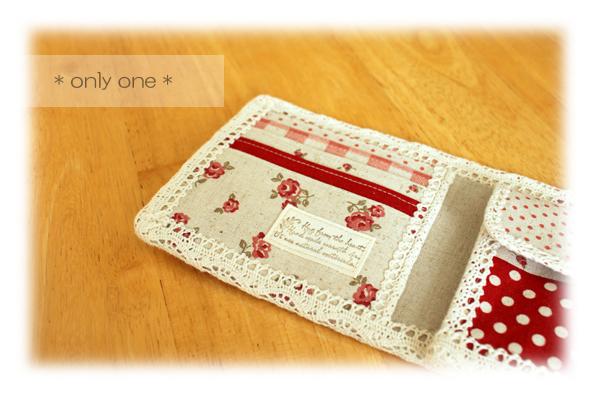 折り財布赤パッチ3