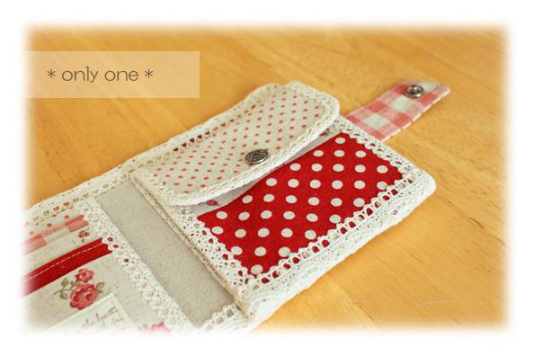 折り財布赤パッチ4