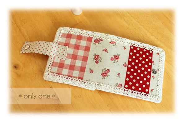 折り財布赤パッチ7