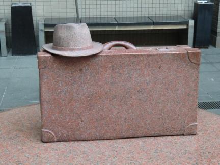 037鞄と帽子