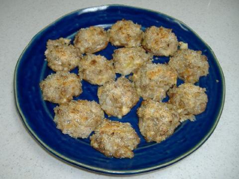 椎茸のマヨネーズ焼き