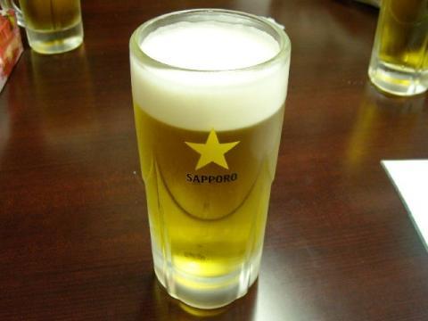 三條交番前横丁・生ビール