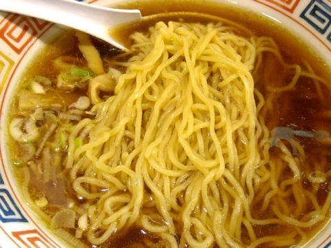しま・中華そば 麺