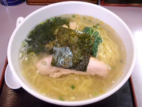 茉莉花・笹川流れの塩ラーメン
