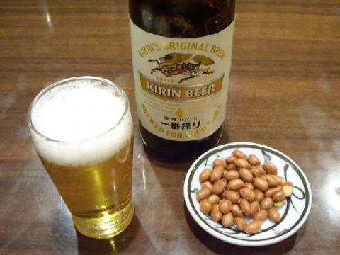 中華美食館三条店・ ビール