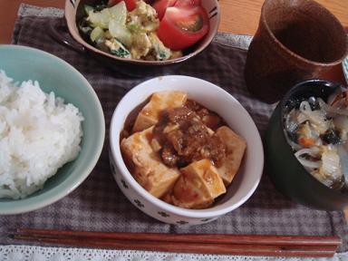 こってりマーボー豆腐♪ご飯がススム♪
