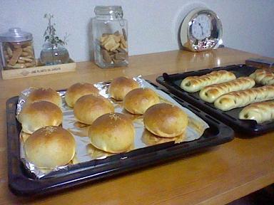 焼き立てパン&クッキー♪