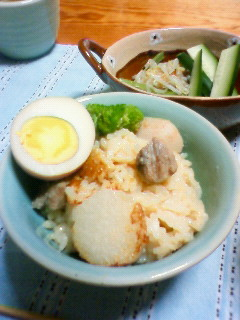 里芋と豚肉の炊き込みご飯♪♪♪