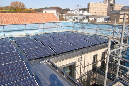 PV屋根から画像