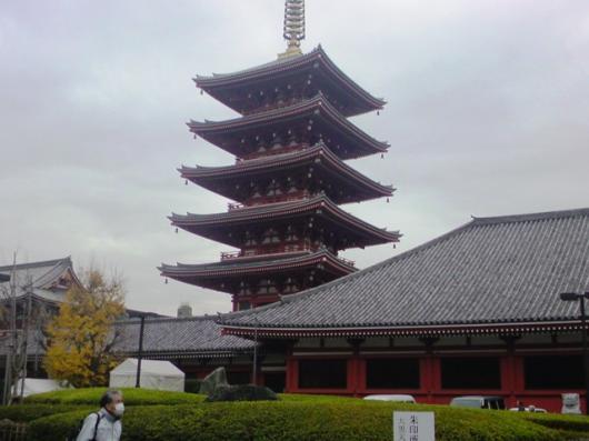 12月16日浅草寺