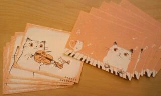 necocoメッセージカード