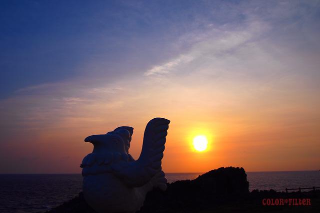 辺戸岬 夜明け02