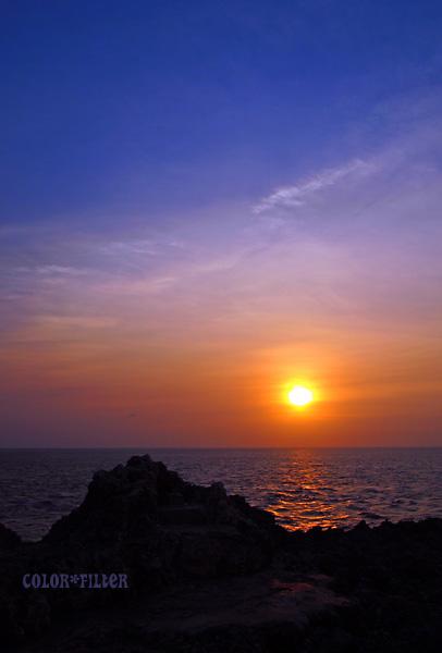 辺戸岬 夜明け03