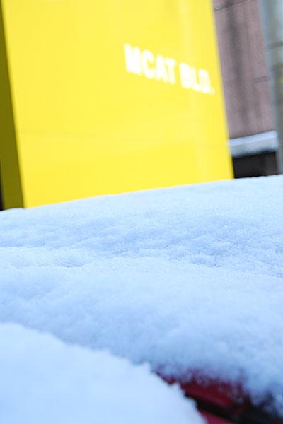 MCAT積雪