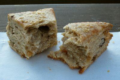 麻心--スコーン/みそむしパン。
