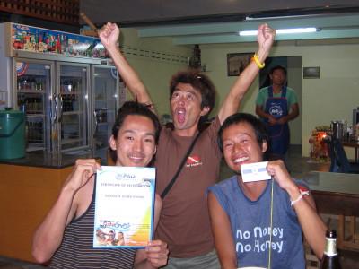 タオ島、ダイビング、経験ダイビング