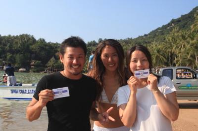 タオ島、ダイビング、ライセンス取得コース2