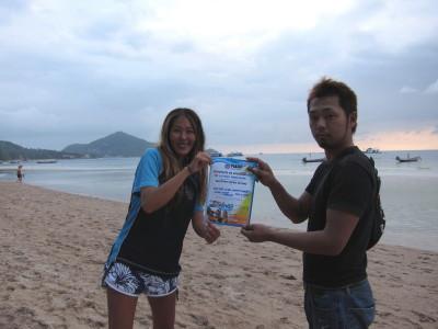 タオ島、体験ダイビング