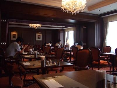 山王メディカルセンター レストラン 店内