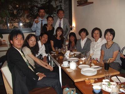 オーガニック カフェ みどりえ 記念写真2