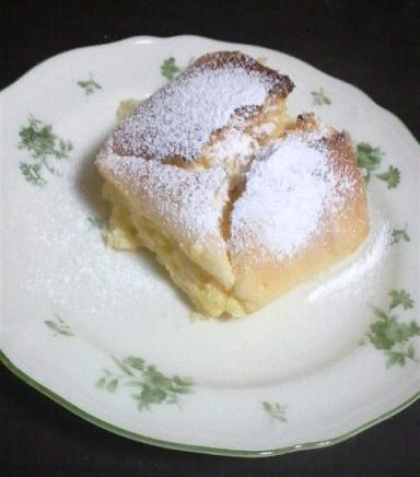 3月9日、水切りヨーグルトで作ったケーキ