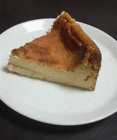 水切りヨーグルトのベイクドチーズケーキ