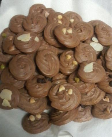 3月18日、チョコクッキー