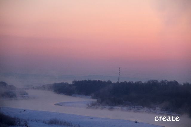 DPP0113日ピンクの朝焼け0001