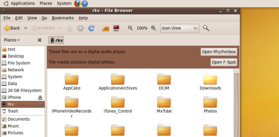 ubuntu ipod