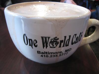 One World Cafe①