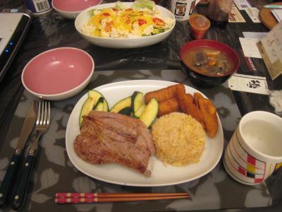 今日の晩御飯①
