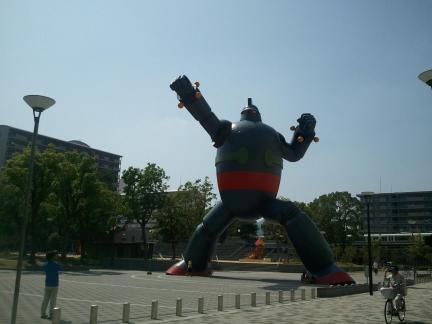 2011/08/10 鉄人28号モニュメント(新長田)