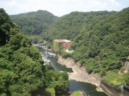 2011/08/28 天ヶ瀬ダム