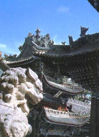 長武県の昭仁寺