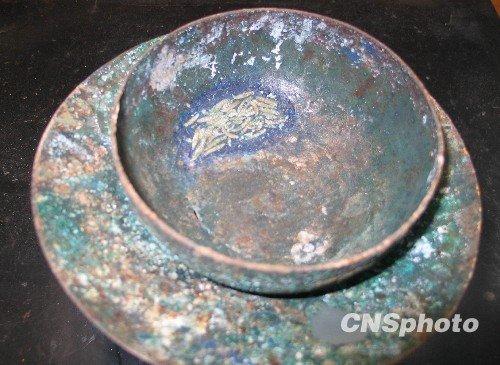西安の宋墓から出土した千年前の白いお茶01